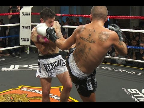 Muay Thai - Josh Tonna vs Jordan Coe - Rebellion Muay Thai 1