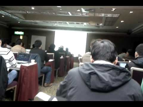 WIFI Direct talk @ Google Android developer lab Taipei  (honeycomb) PART 1/3