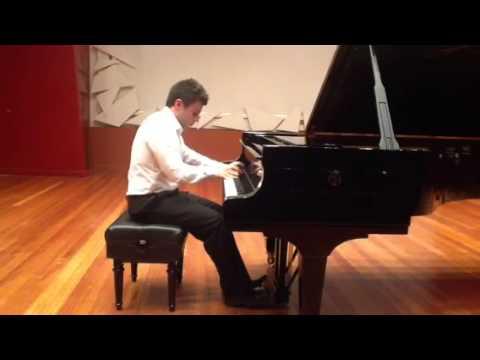 James Russo Piano  Chopin Étude Op.25 n.12 Ocean