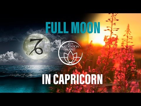 Total Lunar Eclipse Meditation Music - Full Moon in Capricorn, Blood Moon, Mantra Chanting Music
