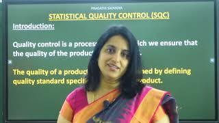II PUC | STATISTICS | STATISTICAL QUALITY CONTROL -  01
