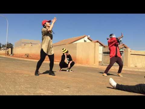 JAPAN MEETS SOUTH AFRICA  PANTSULA DANCE 2016