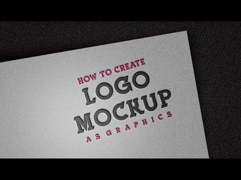 Mockup Tutorial - How To Make - Logo Design Mockup | In Adobe Photoshop cc 2018 Best Tutorial thumbnail