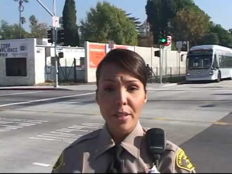 Safety on the Orange Line - Los Angeles Metro Orange Line - Safety Tips
