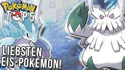 Top 5 meiner liebsten Eis Pokemon!