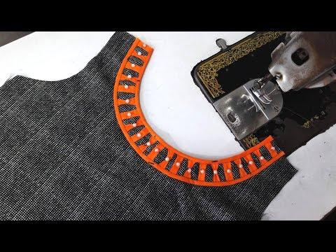Beautiful boat neck designs / Latest /latest neck designs /new suit   dress Kurti designs
