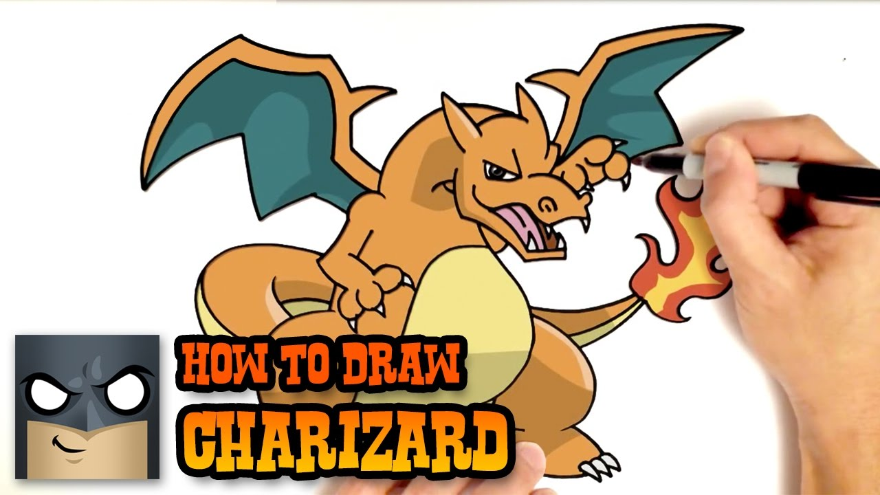 How to Draw Charizard | Pokemon