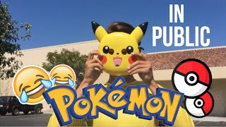 pokemon go in real life walmart gone wrong 2016 pikachu drives a mercedes