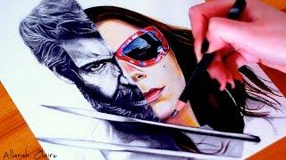 LOGAN & LAURA X-23 Drawing