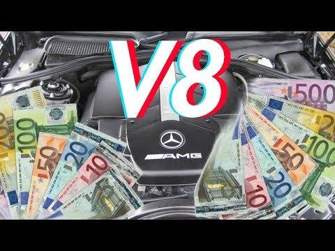 5 billige Autos mit V8 Motor die du dir leisten kannst!