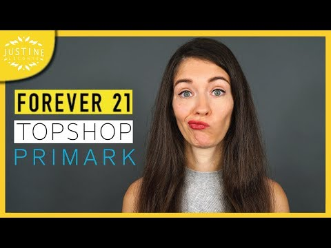 """Forever21 & Topshop Are Bankrupt: Is It The End Of """"Fast Fashion""""? ǀ Justine Leconte"""