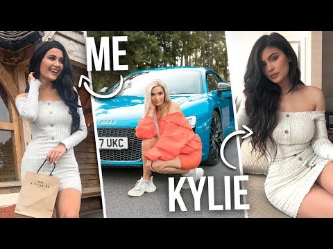 I TURNED INTO KYLIE JENNER FOR A WEEK...