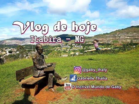 Vlog - Viagem Itabira MG