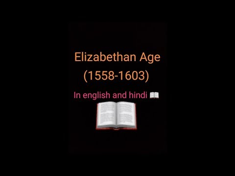 The Elizabethan Age | in english and  hindi | literary age | simple and easy language
