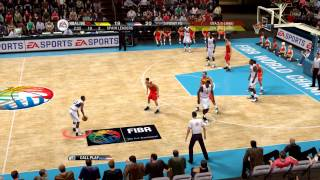 NBA Live 09 - USA vs Spain Epic Game