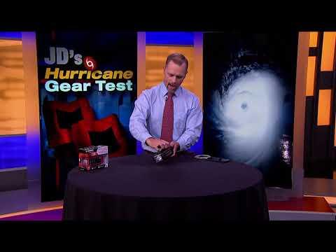 Midland Weather Radio - Hurricane Gear Test