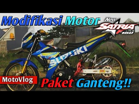 Review modifikasi motor SUZUKI All New Satria Fu Injeksi 150 | B-PRO 5 Alpha Edition
