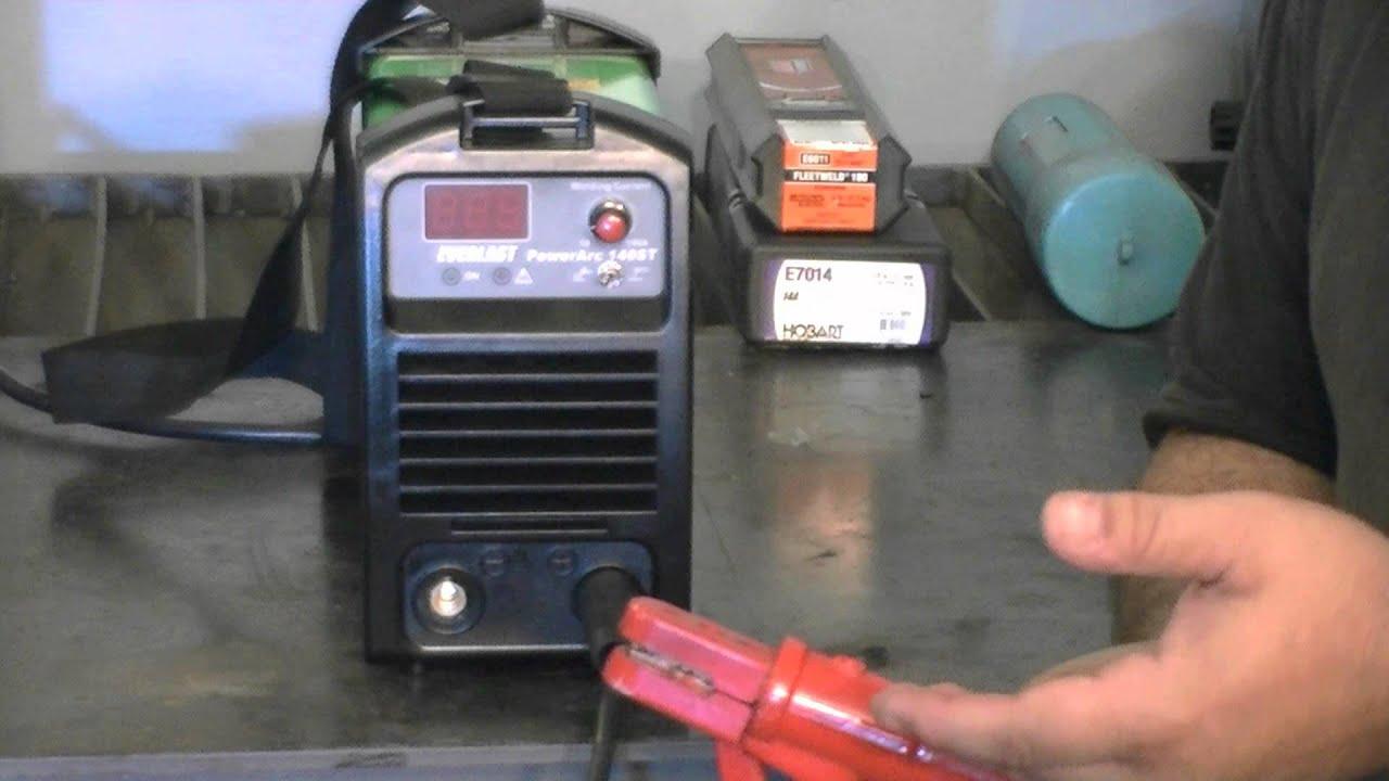 PowerArc 140ST 120240 V 140 Amp  Stick Lift Arc TIG