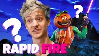 Ninja Responds to 50 Rapid-Fire Questions from IGN