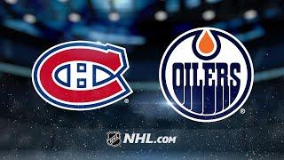 Draisaitl earns three assists as Oilers top Habs, 4-1