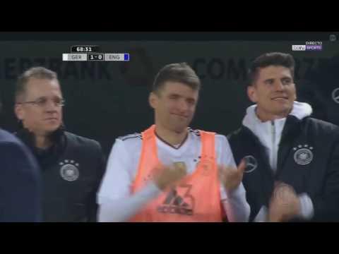 Last goal of Lukas Podolski for the German national team