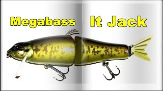 Megabass IT Jack | Fishing Lures Review | Обзор воблера(Обзор воблера Megabass IT Jack Длина: 190mm Вес: 56 gr Все мои видео https://www.youtube.com/user/TheAlexNikolas/videos Воблер – составник,..., 2016-04-12T17:52:22.000Z)