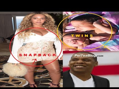 Download Youtube: Beyonce shows off Snapback BODY & Twins Faces 4 Weeks after birth 😍😍😍😍 #SirAndRumi