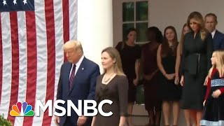 Members Of Trump's Inner Circle Test Positive For Covid-19 | Morning Joe | MSNBC