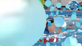 Плавание - управляй свободой ! Упражнение Aqua Cross Balance для тренировки пловцов