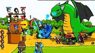 Grow Castle #2 Мультфильм Игра о развитии и защите замка Игровой мультик для детей #Мобильные игры