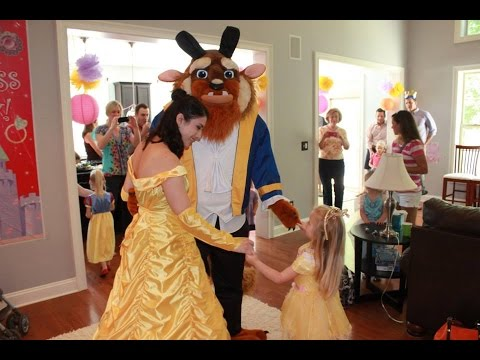 Beauty And The Beast Party Ideas | Call: 866-434-4101