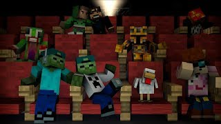 ZOMBIE MARK AND ZOMBIE MATTY GO TO THE CINEMA AND MEET YOUTUBERS !! EPIC !!