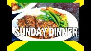 Sunday Dinner  Jerk Chicken Best Jamaica Jerk Chicken in The World | Chef Ricardo Cooking