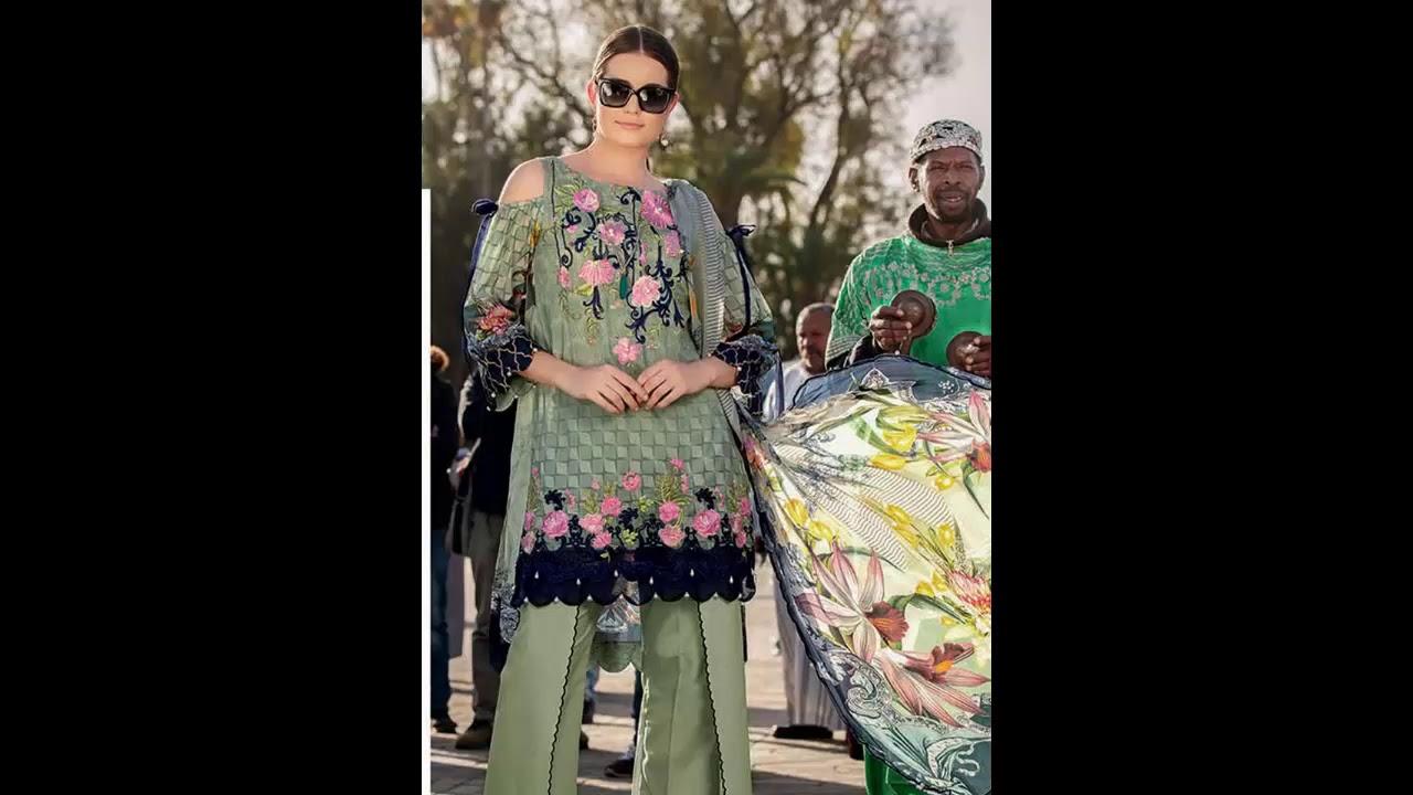 e3ff549137 Rungrez Spring Summer Collection Luxury Lawn 2019 - YouTube