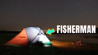 LAKE CAMPING ON an ISLAND! | Fishing the Bass Spawn in Oklahoma