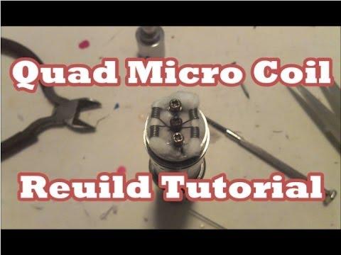 IGO-W 26g Kanthal 0.3ohm Quad Micro Coil Tutorial