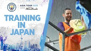 RAIN SOAKED TRAINING SESSION | JAPAN TRAINING | ASIA TOUR