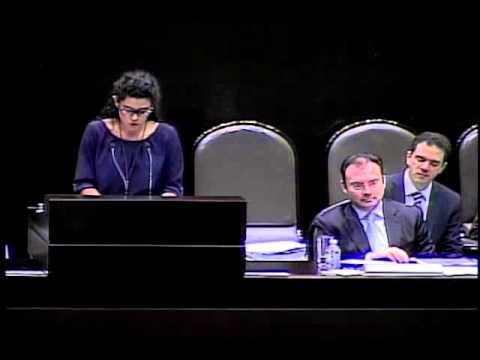 Dip. Luisa Alcalde (MC) - Comparecencia del Dr. Luis Videgaray Caso (Ronda Preguntas)
