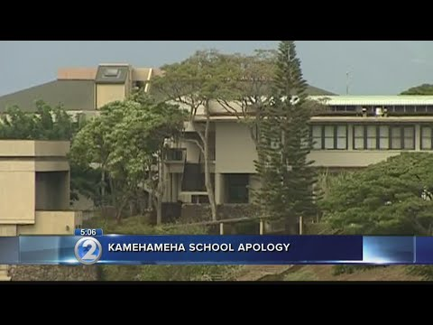 Kamehameha Schools issues apology following decades of alleged sexual abuse