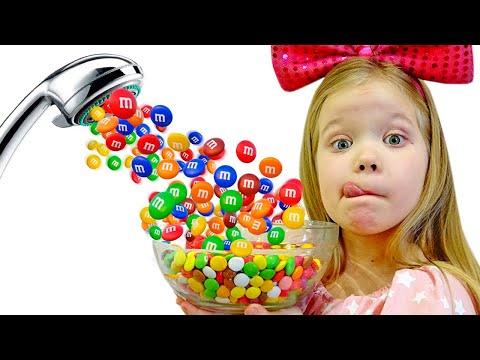 Мама хочет конфеты или волшебный душ из M&m's