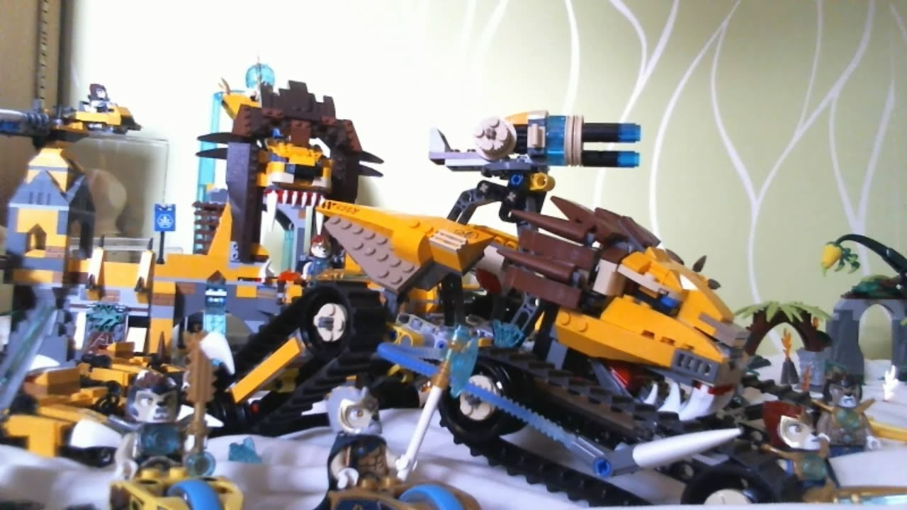 LEGO Legends of Chima : Ma Collection (12/11/13) [Français] - YouTube