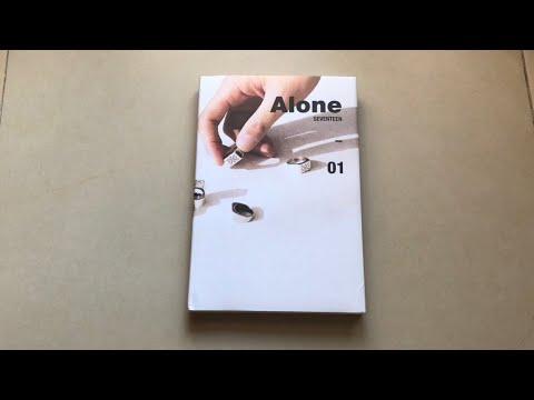 [UNBOXING] SEVENTEEN 세븐틴 4th Mini Album 'AL1' Alone 01 VER.