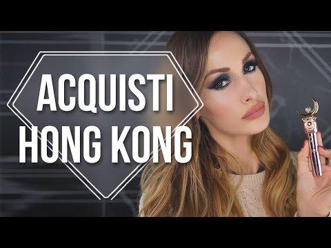 ACQUISTI BEAUTY A HONG KONG!!!