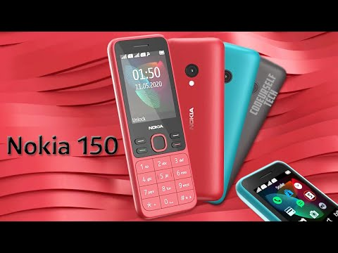 19.4 Hours Talk Time, Nokia 150 (2020 Edition) Launched, Price, Full Specifications (In English)