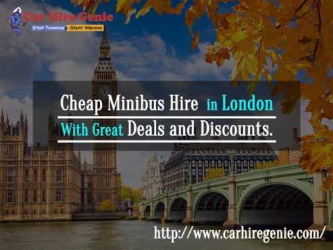 Minibus hire & van rental - Kensington and Chelsea