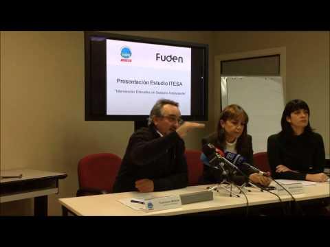 ANPE-Madrid Y FUDEN Contra La Violencia De Género. Rueda De Prensa