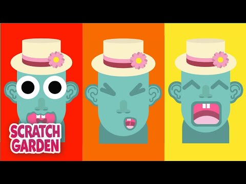 The Parts of the Head Song – Teaching Body Parts to Kids by Scratch Garden