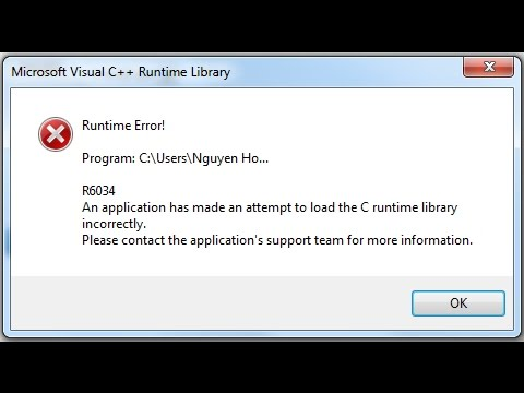 Cara Memperbaiki C++ Runtime Error