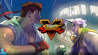 Street Fighters V Comic Animation: The Story of Ryu - Finding True Strength (Street Fighter 5 PS4)
