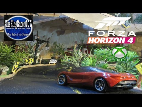Forza Horizon 4 - E3 2018 - Announce Trailer (stop Motion)